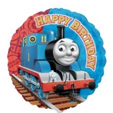 Thomas Tank Engine Happy Birthday Foil Helium Balloon